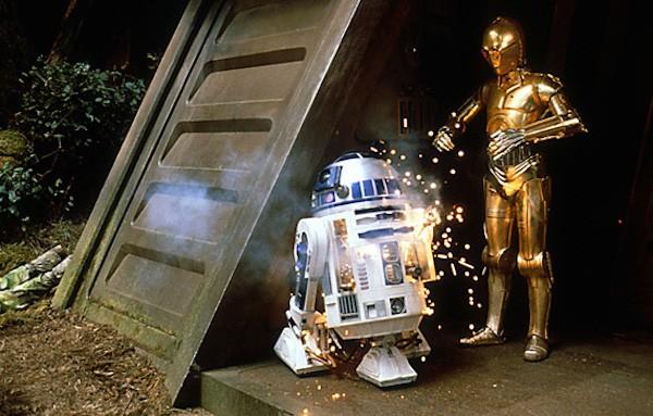 R2-D2 em cena de Star Wars: Episódio VI  - O Retorno de Jedi (1983) (Foto: Reprodução)