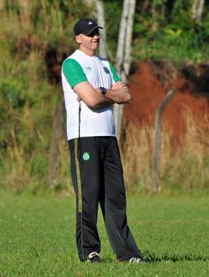 Gilmar Dal Pozzo, técnico da Chapecoense (Foto: Daniel Cavagnoli, divulgação/Chapecoense)