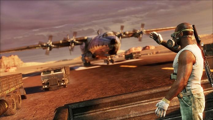 A porção Multiplayer de Uncharted 3 está disponível de graça na PSN (Foto: Divulgação/Naughty Dog)