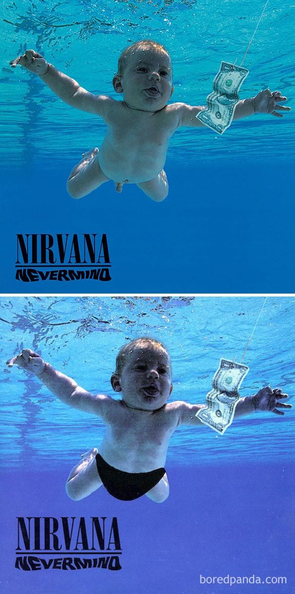 Nirvana (Foto: Bored Panda)