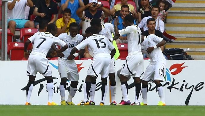 gana X iraque mundial sub-20 (Foto: AFP)
