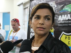 Delegacia Especializada em Proteção a Criança e ao Adolescente (DEPCA), Linda Glaucia (Foto: Girlene Medeiros/G1 AM)