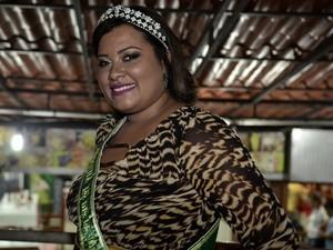 Daiane Bonfim foi a vencedora da edição carioca do ano passado (Foto: A gordinha mais bonita do Brasil/ Divulgação)