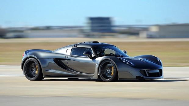 Hennessey Venom GT bate recorde mundial de aceleração 0-300 km/h (Foto: Hennessey)