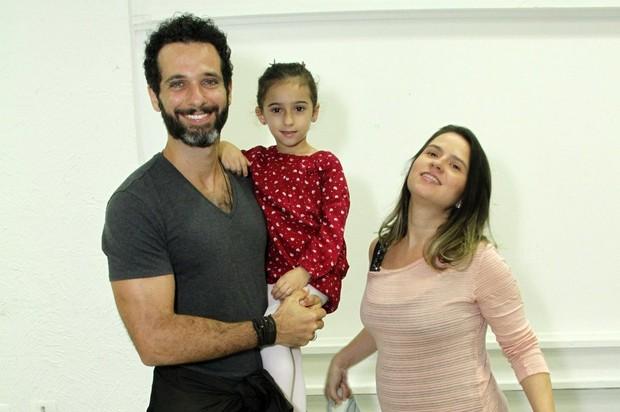 Mohammed Hafort e família no aniversário de Maria Flor (Foto: MARCOS FERREIRA /Brazil News)