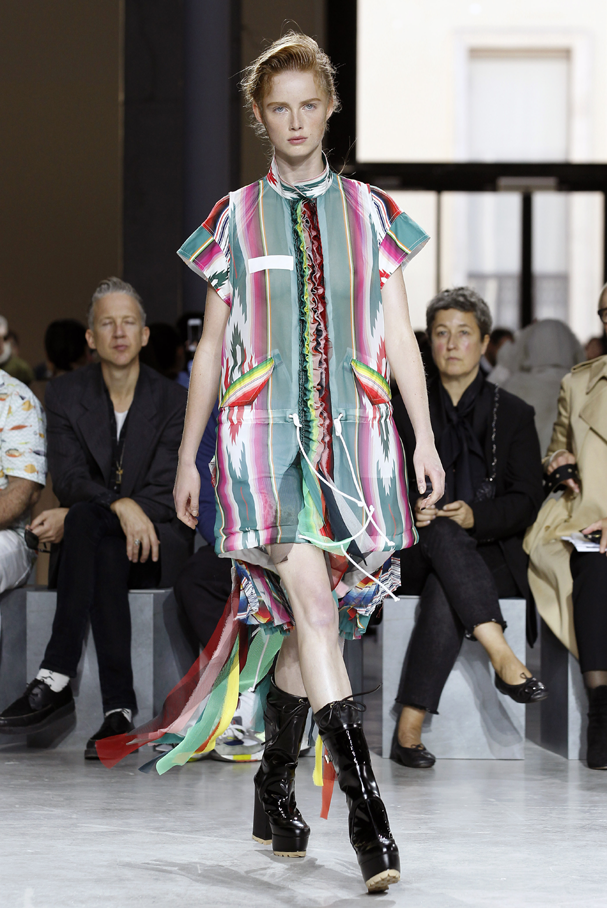 Sacai (Foto: Catwalking /Getty Images)