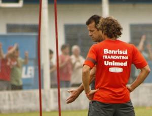 Dunga, técnico do Inter, em Gramado (Foto: Diego Guichard / GLOBOESPORTE.COM)