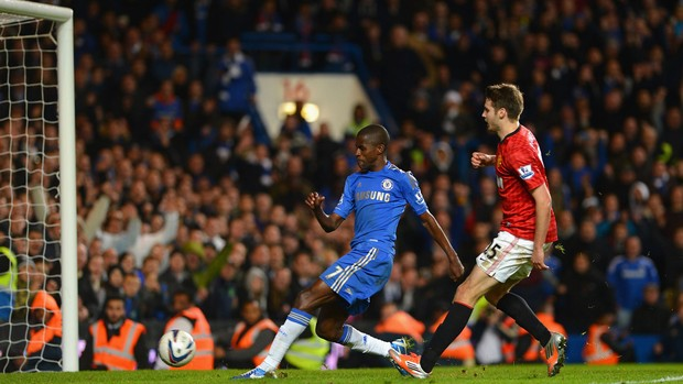 Ramires gol Chelsea (Foto: Getty Images)