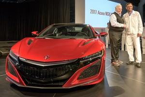 Primeiro NSX sai da fábrica da Honda por US$ 1,2 milhão (Divulgação)