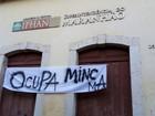 Manifestantes mantêm ocupação ao prédio do Iphan na capital do MA