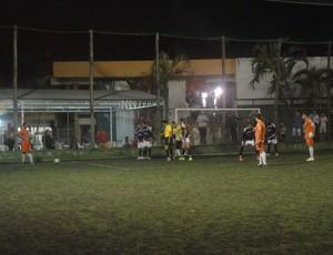 Clube Ítalo x Rio Branco-ES/Projecta na final do municipal (Foto: Richard Pinheiro)