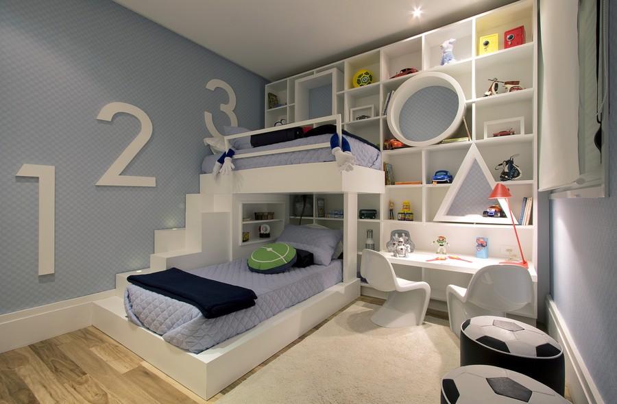 Mezzanine Closet