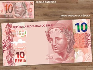 Nova nota de R$ 10 (Foto: Divulgação)