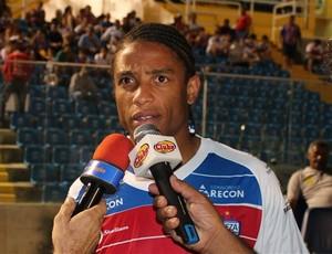 Adriano Chuva, novo reforço do Fortaleza (Foto: Site oficial do Fortaleza)
