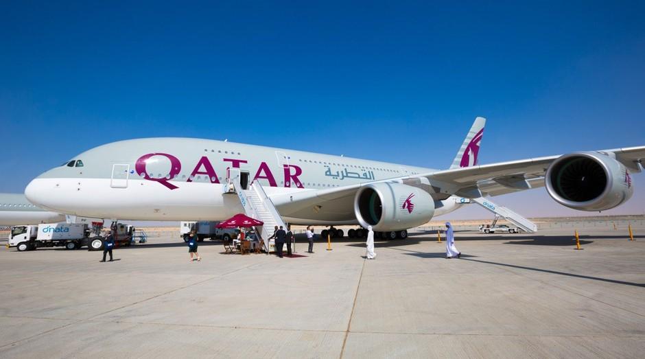 A Arábia Saudita proibiu a entrada de voos da Qatar Airways (Foto: Divulgação)