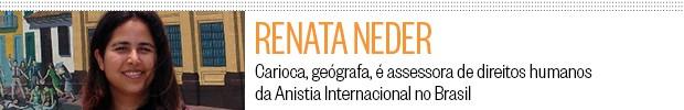 perfil Renata Neder - blog da Ruth (Foto: ÉPOCA)