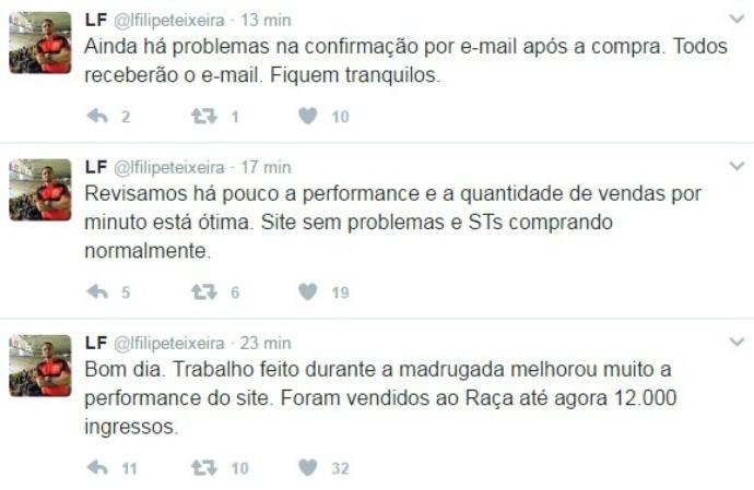 Luiz Filipe Teixeira, Flamengo (Foto: Reprodução)