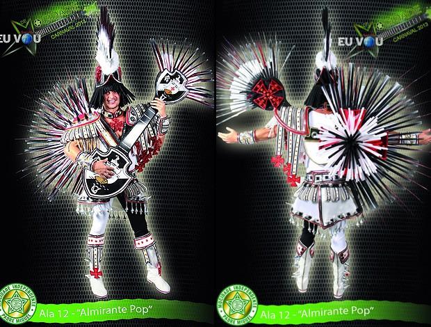 Fantasia Carnaval Vasco Mocidade (Foto: Reprodução)