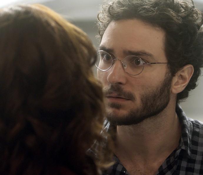 Elio fica furioso com Ana Luiza (Foto: TV Globo)