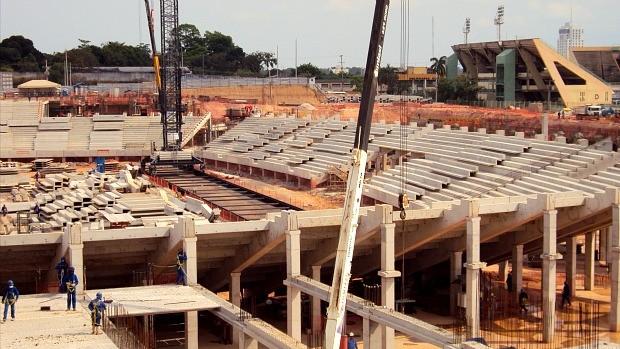 Arena da Amazônia (Foto: Adeilson Albuquerque/GLOBOESPORTE.COM)