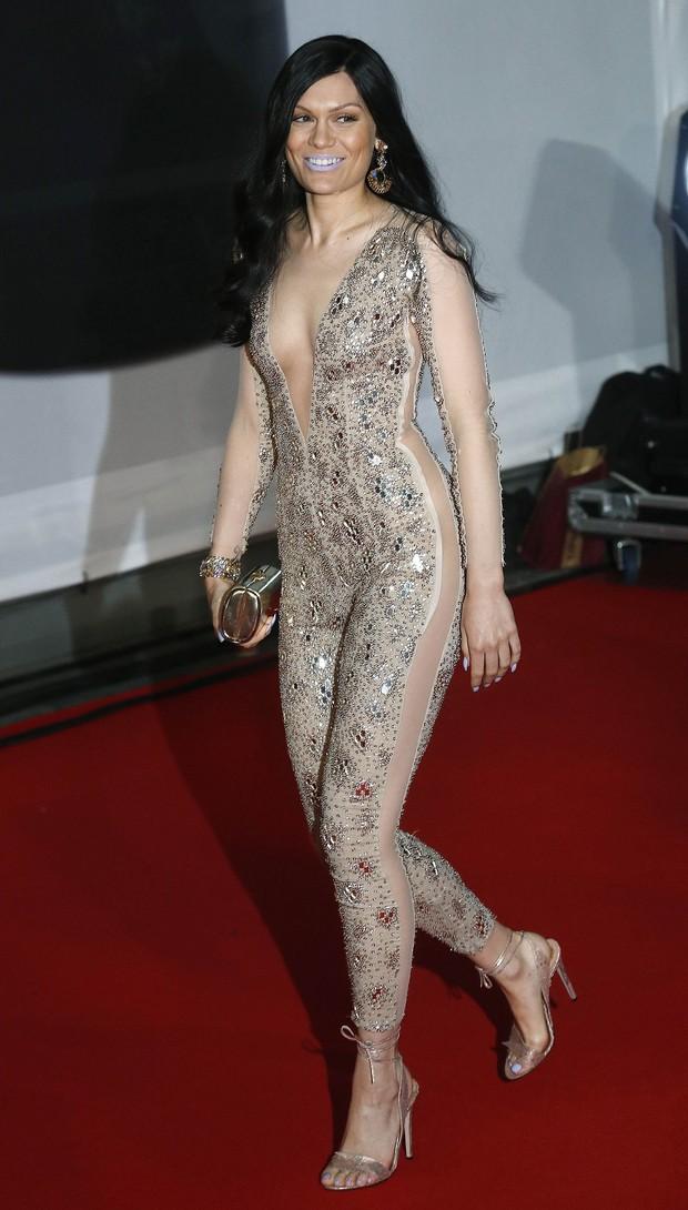 Jessie J no BRIT Awards (Foto: Reuters)