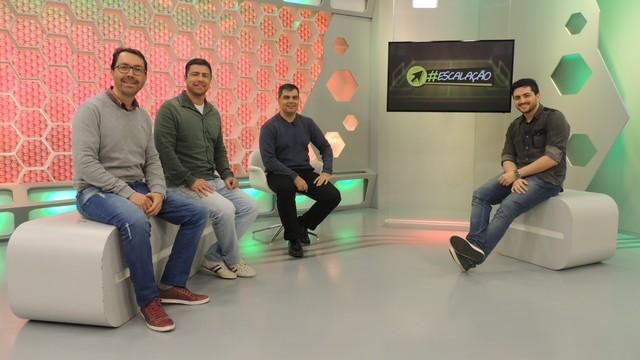 Escalação será semanal no site do Globo Esporte.com (Foto: GloboEsporte.com/Divulgação)
