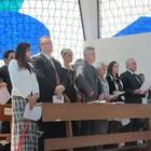 Em Brasília, celebração reúne políticos  (Dayane Oliveira / G1)
