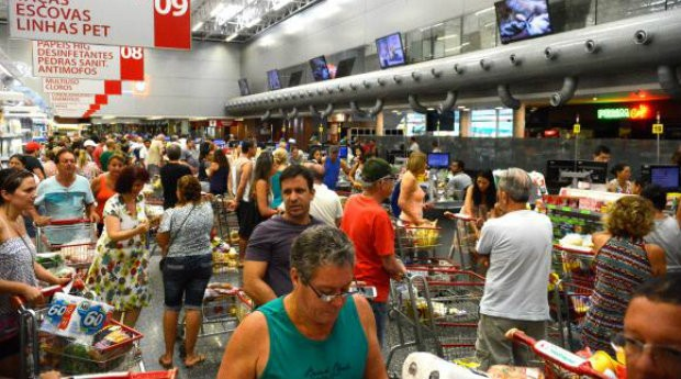 Alimentação, supermercado, mercado, compra, comida, varejo, comércio, minimercado (Foto: Reprodução/Agência Brasil)