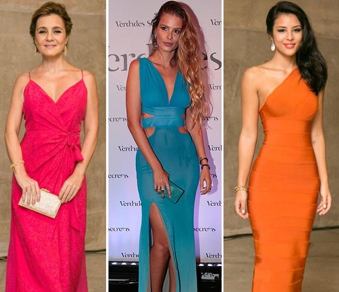 Vestidos coloridos (Foto: Gshow)
