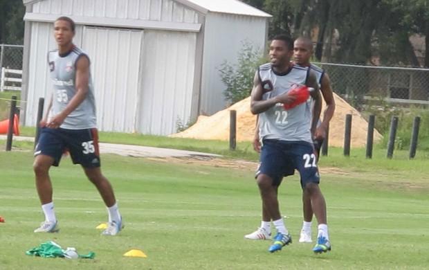 Rhayner treino Fluminense Orlando (Foto: Rafael Cavalieri)