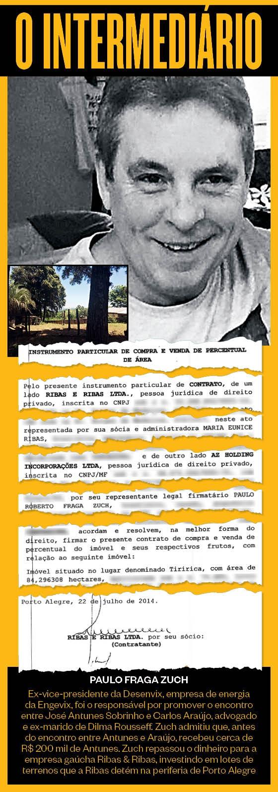 O intermediário - Paulo Fraga Zuch (Foto: reprodução (2))