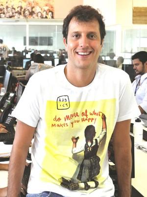 João Ricardo, fundador e CEO do Hotel Urbano (Foto: Divulgação)