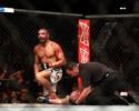 """Thales engata a quinta após """"apagar"""" Boetsch no card principal do UFC 183"""
