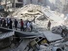 Rússia volta a bombardear a cidade síria de Aleppo