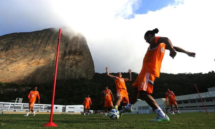 ronaldinho gaúcho, fluminense (Foto: Nelson Perez/Fluminense FC)