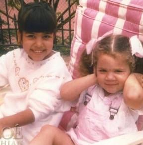 Kourteney e Khloe Kardashian (Foto: Instagram / Reprodução)