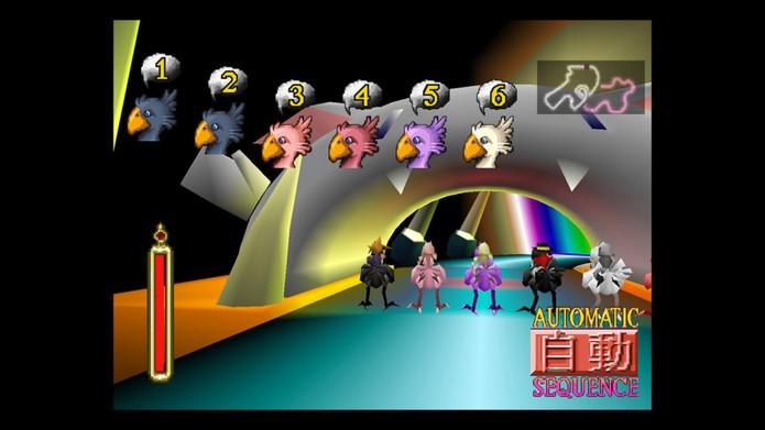 A corrida de Chocobos foi um dos ápices da série (Foto: Divulgação/Square Enix)