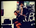 Após folia em Salvador, Mari Paraíba treina na academia: 'De volta à labuta'