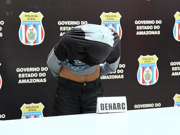 Manuel Ivani Pinto Carioca foi preso em Manaus (Foto: Indiara Bessa/G1 AM)