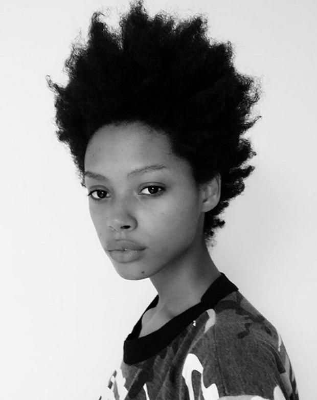 Londone Myers fez desabafo sobre despreparo de cabeleireiros com modelos negras (Foto: Reprodução / Instagram)