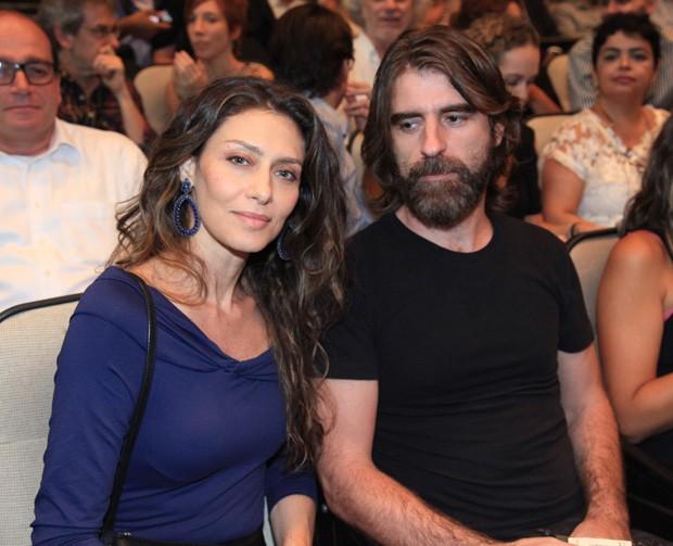 Maria Fernanda Cândido e o marido, Petrit Spahira (Foto: Marcos Ribas/Brazil News)