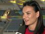 """Isinbayeva elogia Thiago Braz e admite: """"Não foi surpresa para mim"""""""
