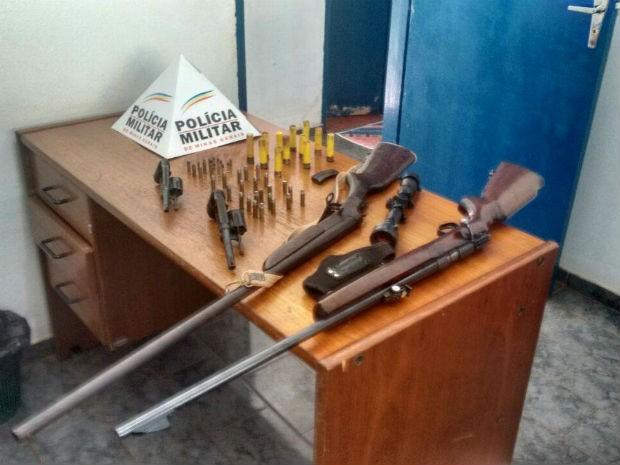 Operação 241 anos Uberlândia (Foto: Polícia Militar/Divulgação)