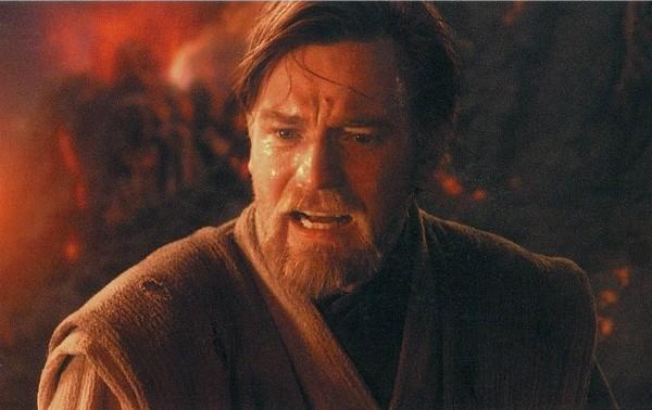 Ewan McGregor no papel de Obi Wan Kenobi em cena de 'Star Wars: A Vingança dos Sith' (2005) (Foto: Reprodução)