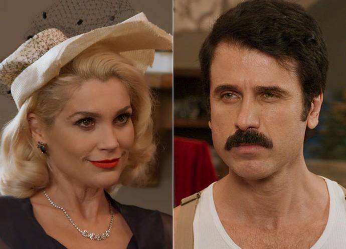 Sandra revela plano sinistro para ficar com a fortuna de Anastácia (Foto: TV Globo)