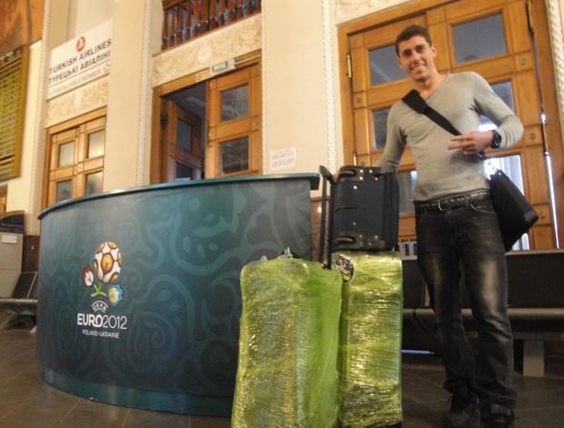 Danilo Avelar, meia brasileiro do Karpaty (Foto: Rafael Cavalieri / Globoesporte.com)