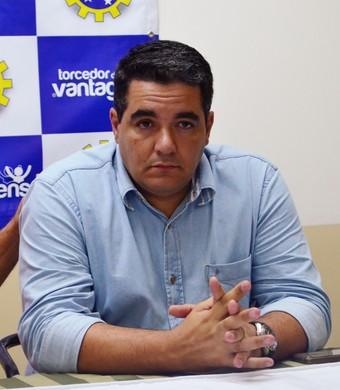 Tuca Guimarães técnico São José (Foto: Danilo Sardinha/GloboEsporte.com)