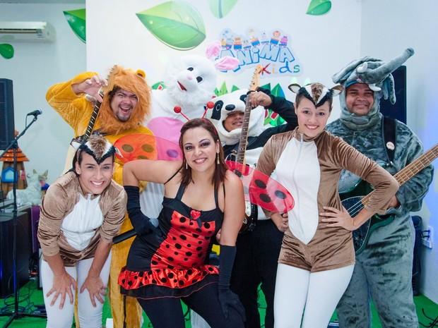 Banda AnimaKids vai fazer a festa da criançada do Empório (Foto: Divulgação)