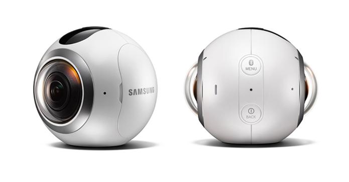 Gear 360 da Samsung é ótima opção no Brasil, mas a resolução não é exatamente 4K (Foto: Divulgação/Samsung)