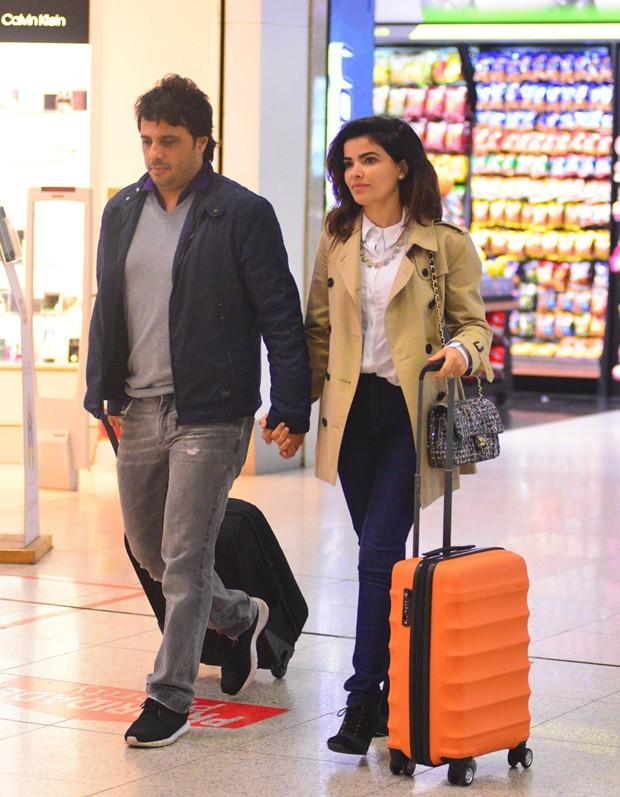 Vanessa Giácomo e Giuseppe Dioguardi (Foto: William Oda/Agnews)